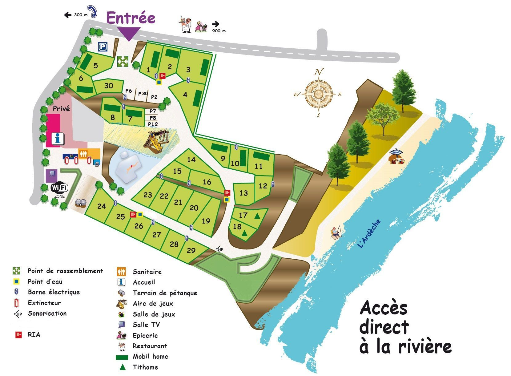 Camping Mas de la Source 3 toiles Site officiel Camping avec
